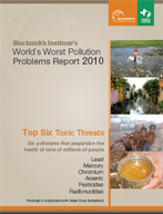 Top Six Toxic Threats - Blackmsith Worlds Worst Polluted Report