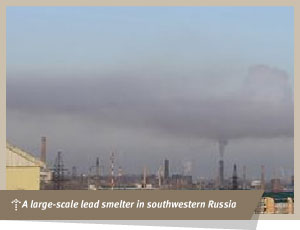 Large Scale Smelter in Russia